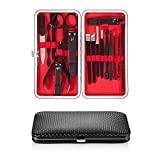 UOON Nail Clipper Manicure Set 17PCS Nail Scissors Travel Set Stainless Steel Nail
