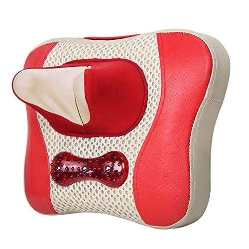 Elektrisches Massagekissen des Zervikalen MassagegeräTs, 3D Knetmassage/ÜBerhitzungsschutz/Effektive FöRderung Der Durchblutung