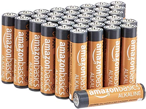 AmazonBasics AAA Performance Alkaline Non-rechargeable Batteries (36 Count) - Appearance May Vary