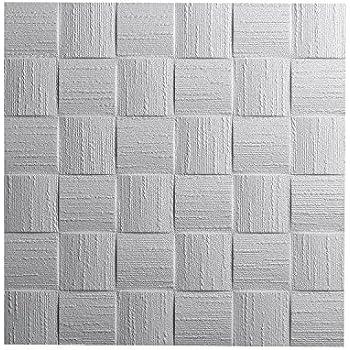 pin 50 x 50 cm Decosa Dalle de plafond Athen = 4m2 PRIX SPECIAL LOT DE 2 SACHETS