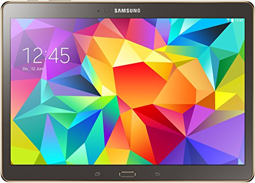 Samsung Galaxy Tab S 26,67 cm (10,5 Zoll) WiFi Tablet-PC (Quad-Core, 1,9GHz, 3GB RAM, 16GB interner Speicher, Android) titanium/bronze