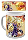 GB Eye Super Saiyans Dragon Ball Z Tasse, Mehrfarbig