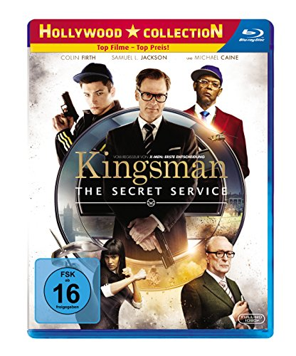 Kingsman - The Secret Service [Blu-ray] [Import anglais]
