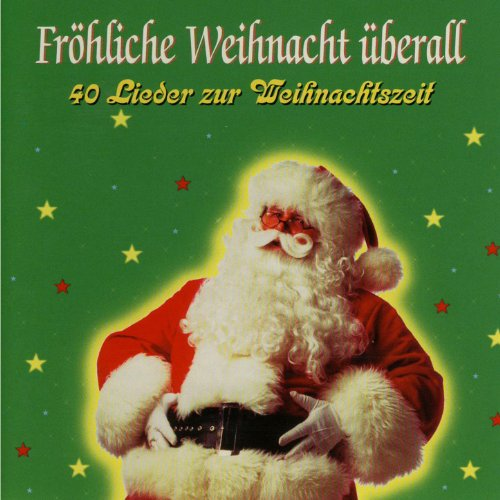 Frohe weihnacht merry christmas die freude ist uberall
