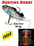 #9: Hunting Hobby HH39 Curly Tail Soft Fish and Bait Lure