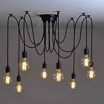 GENERIC 14 arms a set : Dropshipping Edison Chandelier classic vintage ancient light living room chandelier dining room 6/8/10/12/14/16 arms for choice