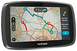 TomTom GO 5000 5-inch Sat Nav with European Maps and Lifetime Map and Traffic Updates