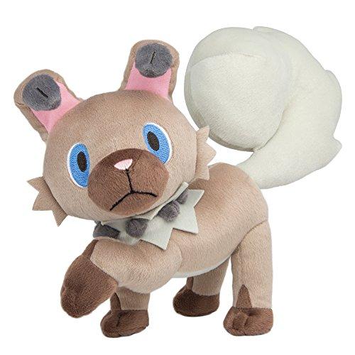 Pokemon Rockruff 8 Inch Plush Toy