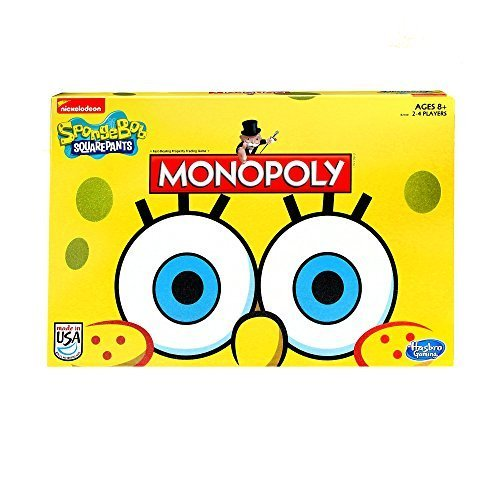 Monopoly Game SpongeBob SquarePants Edition by Hasbro