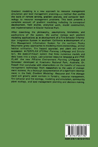 Gradient Modelling: Resource and Fire Management (Springer Series on Environmental Management)