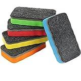 5er Pack Whiteboard Schwamm Magnetisch Größe: 110 X 52mm Für Trockenreinigung Löscher Wischer Magnethaftend 5 Stück Im Set Von Amathings