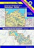 Wassersport-Wanderkarte / Kanu-und Rudersportgewässer: Jübermann Wassersport-Wanderkarten, Bl.6, Deutschland Nordost - Erhard Jübermann