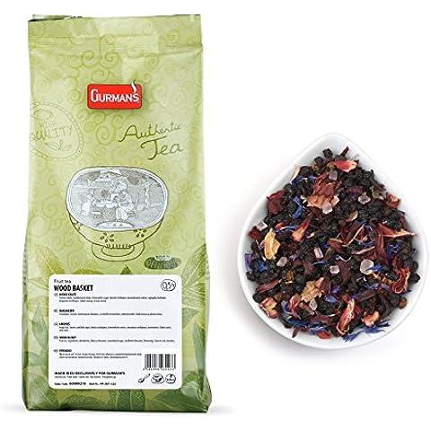 Gurman's Legno Cestino Di Frutta Tè -