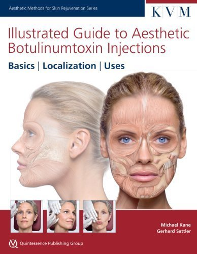 Illustrated Guide to Aesthetic Botulinum Toxin Injections: Dosage, Localization, Uses (Aesthetic Methods for Skin Rejuvenation) 1st Edition by Michael Kane, Gerhard Sattler (2013) Hardcover