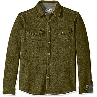 Arborwear Men's Staghorn Fleece Shirt, Olive, 2X-Large