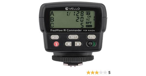 Vello Fwirc N Freewave Ir Ttl Flash Commander Für Nikon Kamera