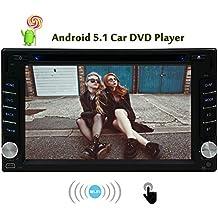 6.2 pollici Android 5.1 Lollipop Quad Core Radio autoradio Doppio Din in precipitare capo unit¨¤ GPS di sostegno di navigazione DVD CD RDS Radio SD USB Subwoofer 3G WIFI OBD2 - Quad Capo