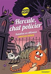 """Afficher """"(Contient) Hercule, chat policier Jumelles en détresse"""""""