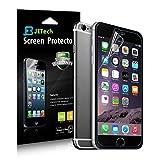 JETech Schutzfolie für iPhone 6s Plus und iPhone 6 Plus, PET Displayschutzfolie, HD Klar, 3 Stück