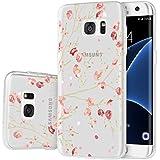 Coque Galaxy S7 Edge , ivencase Housse Etui TPU Silicone Clair Transparente Ultra Mince Anti-Scratch Back Case Cover pour Samsung Galaxy S7 Edge SM-G935