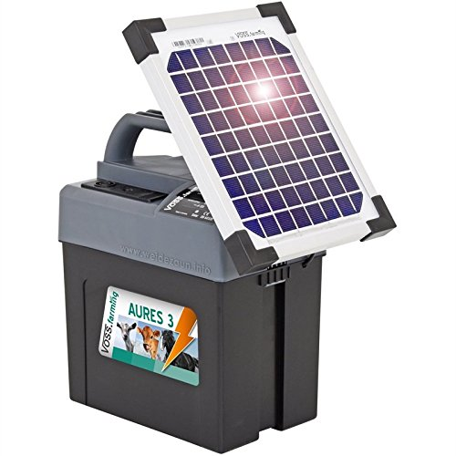*Weidezaungerät 9V inkl. Batterie, Solar, Zubehör, passend für den Elektrozaun und Weidezaun ihr Begleiter für die Weide*