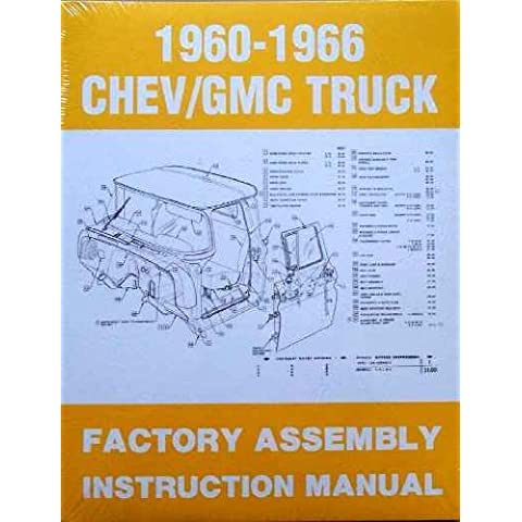 1960-1966 Chevy/GMC Truck Factory Assembly Instruction Manual - 1960 Chevy Truck