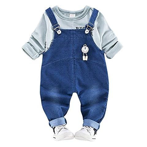 CHIC-CHIC Newborn Baby Boys Girls Clothing Sets T-shirt Tops +