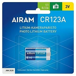 Airam Photo Lithium Battery CR123A 3V Batterie X Digitalkamera 8714094Neue 2025