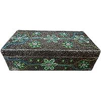accessorio di scatola regalo di nozze gioielli in argento progettista lac perline grande caso di stile antico delle donne di monili fatti a mano