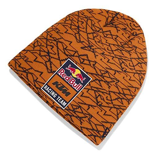 2019 RB K T M Racing MotoGP MX Pumpkin orange Beanie Mütze New Era Mosaic -