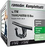 Rameder Komplettsatz, Anhängerkupplung Starr + 13pol Elektrik für VW Transporter T5 Bus (114000-05005-1)
