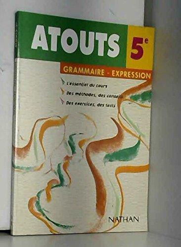 Grammaire-expression écrite, 5e