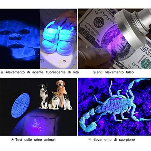 Zoom IMG-2 weinas blacklight ultra violet flashlight