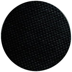 51GU9sEw4HL. SS300  - Werzalit plus CG663 Round Table Top, 800 mm, Rattan Anthracite