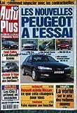 AUTO PLUS [No 550] du 23/03/1999 - COMMENT NEGOCIER AVEC LES CONTREACTUELLES - LES...