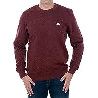 Jack & Jones Sweatshirt Men Long Sleeve Bordeaux 12128255 JORNEPPED Sweat Cew Neck Sassafras/Slim W. CL