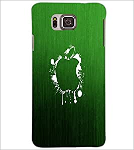 PrintDhaba Apple D-2249 Back Case Cover for SAMSUNG GALAXY ALPHA (Multi-Coloured)