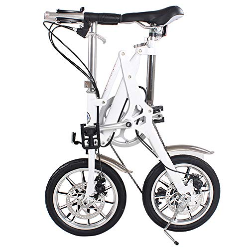 51GUC0hDmFL. SS500  - ZHAORLL Aluminum Alloy 14 Inch Folding Bicycle Mini Adult Male And Female Shifting Seconds Folding Bicycle D70*H95CM