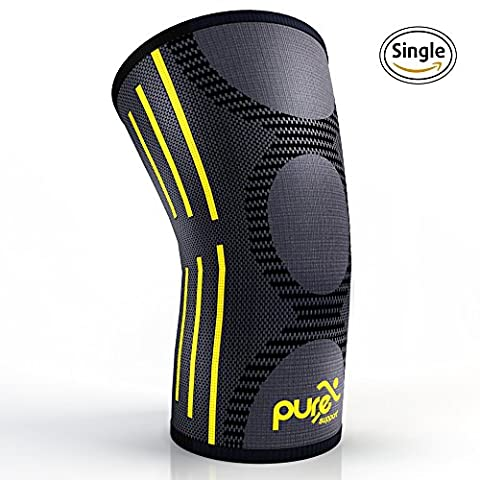 PURE SUPPORT Compression Knee Sleeve – Best Knee Brace for