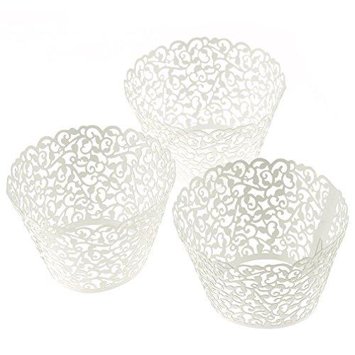 25tlg Papier Muffinform Kuchenform cupcake Wrapper Muffins Hochzeitsfeier Deko
