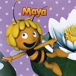 maya l 39 abeille maja l 39 abeille serviette 33x33cm 20 pi ce jeux et jouets. Black Bedroom Furniture Sets. Home Design Ideas