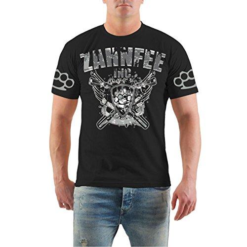 Männer und Herren T-Shirt Zahnfee INC. Größe S - 8XL Schwarz