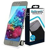Seitronic Display iPhone 6 LCD mit RETINA Glas Scheibe Touch VORMONTIERT - WEISS - WHITE