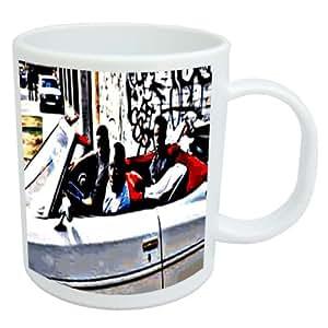 Menace II Society.ai Stylish Coffee Mug Tasse de cafe elegante