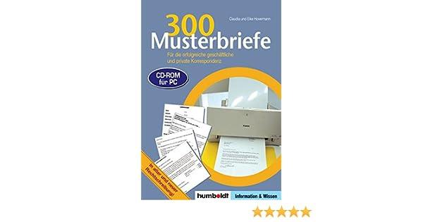 300 Musterbriefe Für Die Erfolgreiche Geschäftliche Und Private