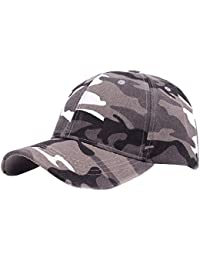 Aivtalk - Gorra de Béisbol Camuflaje Algodón Impresión de Moda para Sombrero  Hombre Mujer para Primavera Otoño y Invierno Transpirable… b0c26968bd8