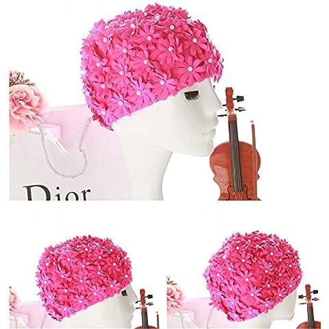 Ryan Dvan da nuoto cappello tessuto petali