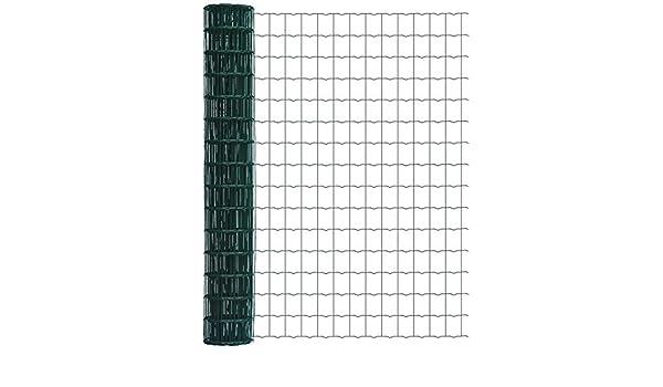 Schweißgitter Zaun 1,2*10m Maschendrahtzaun Wildzaun Gitterzaun grün stabil