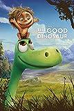 Good Dinosaur, The Arlo And Spot Disney Der gute Dinosaurier Poster Druck - Grösse 61x91,5 cm + 2 St. Posterleisten Kunststoff 62 cm schwarz