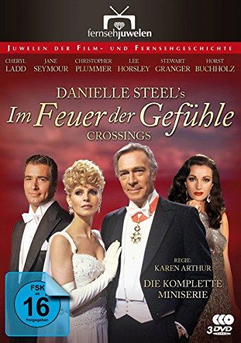Bild von Im Feuer der Gefühle - Die komplette Miniserie nach Danielle Steels Crossings (Fernsehjuwelen) [3 DVDs]